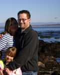 John Thieling, fiance Crystal & his daughter Jocelynn